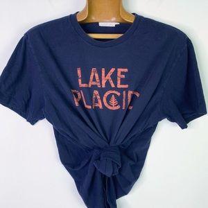 J. Crew lake placid Crewneck Short Sleeve Tee M